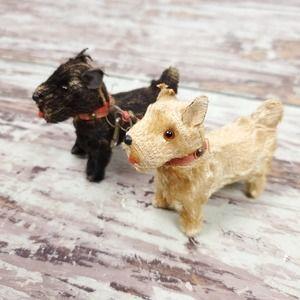 Vintage   U.S. Zone Germany Terrier Dogs